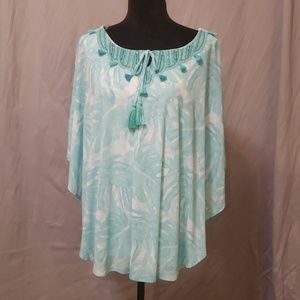 Handkerchief Style Layered top w/ attached tank